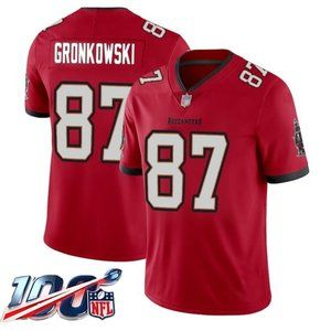 Tampa Bay Buccaneers Rob Gronkowski Red Jersey